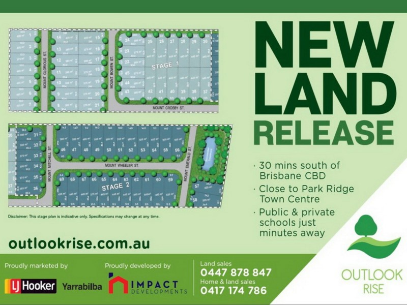 Lot 22/555 Chambers Flat Road, Park Ridge QLD 4125