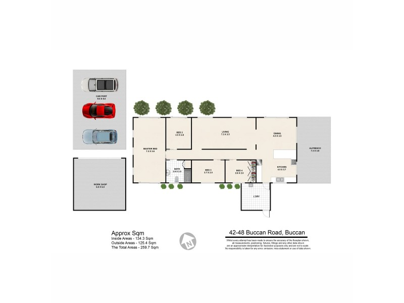 42-48 Buccan Road, Buccan QLD 4207 Floorplan