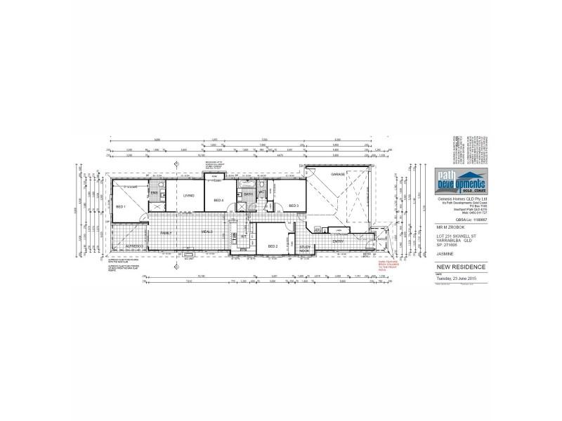 17 Sigwell Street, Yarrabilba QLD 4207 Floorplan