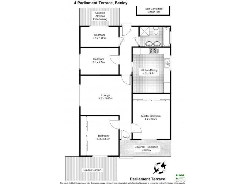 4 Parliament Terrace, Bexley NSW 2207 Floorplan