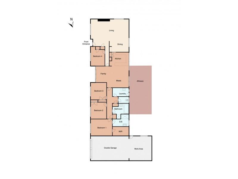 2 Oberon Drive, Belmont VIC 3216 Floorplan