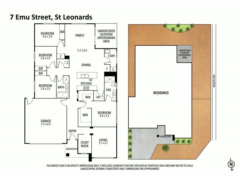 7 Emu Street, St Leonards VIC 3223 Floorplan
