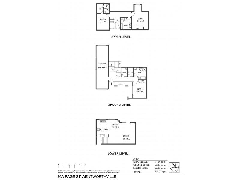 36A Page St, Wentworthville NSW 2145 Floorplan