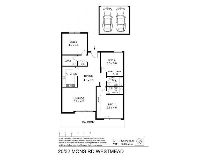 20/32 Mons Rd, Westmead NSW 2145 Floorplan