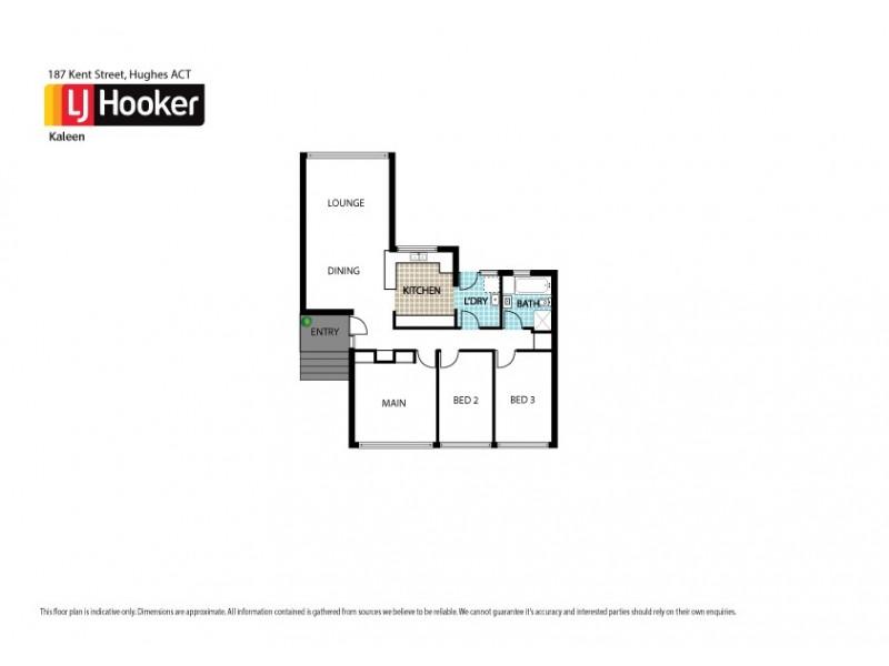 187 Kent Street, Hughes ACT 2605 Floorplan
