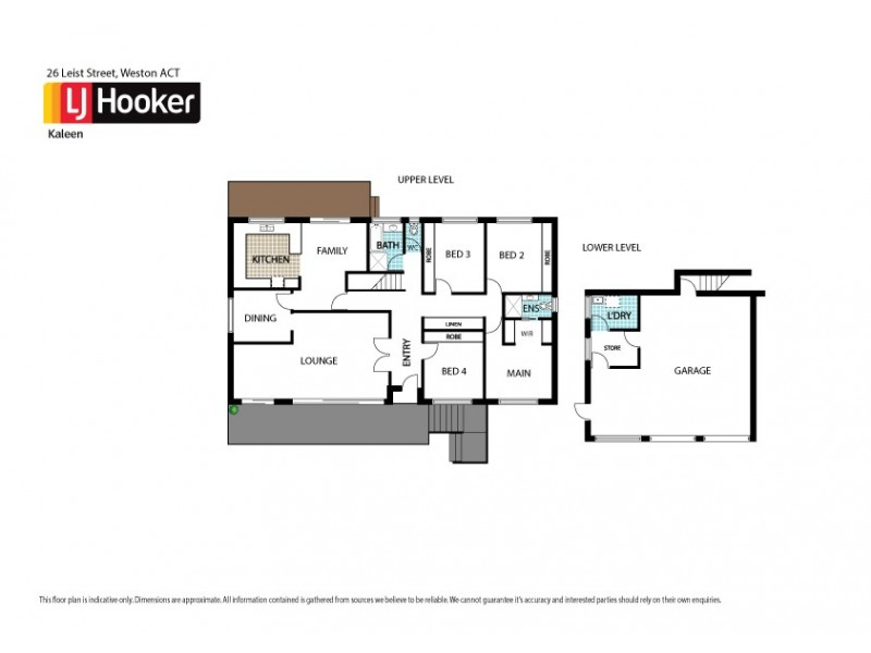 26 Leist Street, Weston ACT 2611 Floorplan