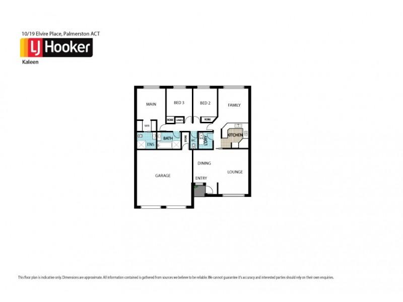 10/19 Elvire Place, Palmerston ACT 2913 Floorplan