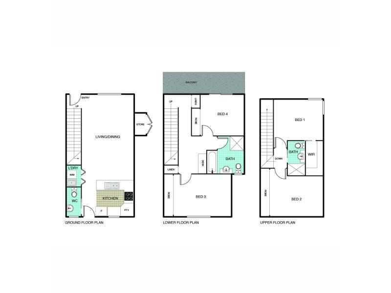 9/293 Flemington Road, Franklin ACT 2913 Floorplan