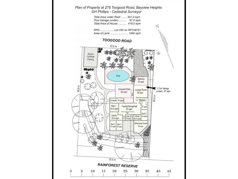 275 Toogood Road, Bayview Heights QLD 4868 Floorplan