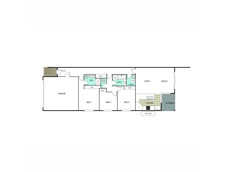 3/41 Nott Street, Fraser ACT 2615 Floorplan