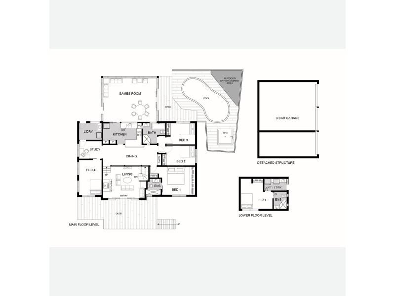 53 Baracchi Crescent, Giralang ACT 2617 Floorplan