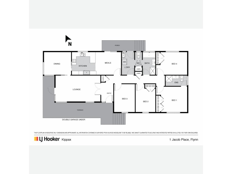 1 Jacob Place, Flynn ACT 2615 Floorplan