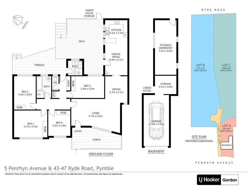 5 Penrhyn Avenue, Pymble NSW 2073 Floorplan