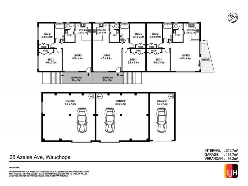 28 Azalea Avenue, Wauchope NSW 2446 Floorplan