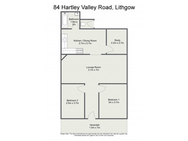 84 Hartley Valley Road, Lithgow NSW 2790 Floorplan