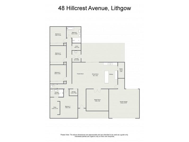 48 Hillcrest Avenue, Lithgow NSW 2790 Floorplan