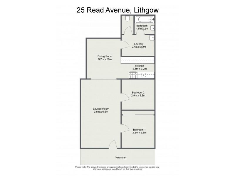 25 Read Avenue, Lithgow NSW 2790 Floorplan