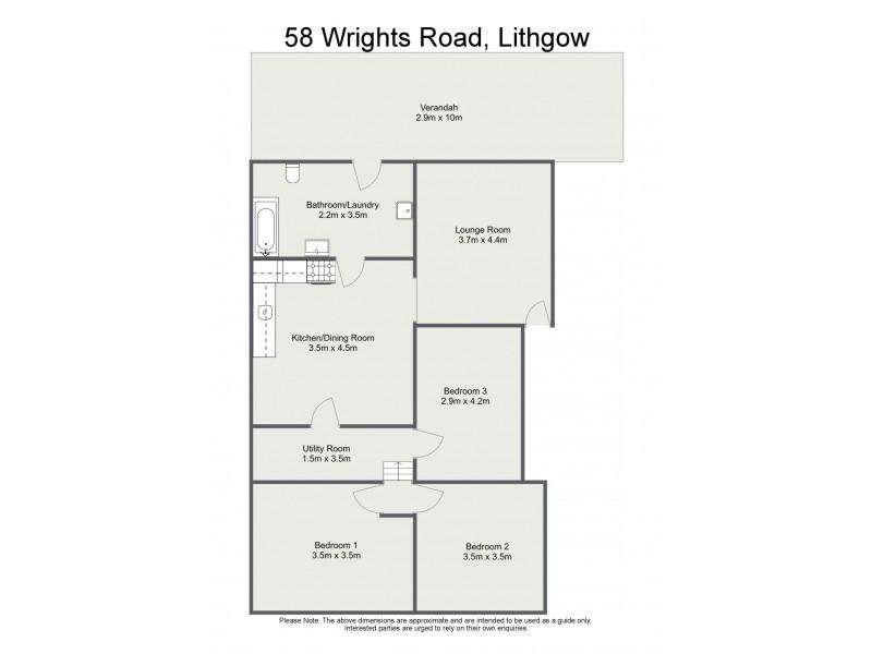 58 Wrights Road, Lithgow NSW 2790 Floorplan