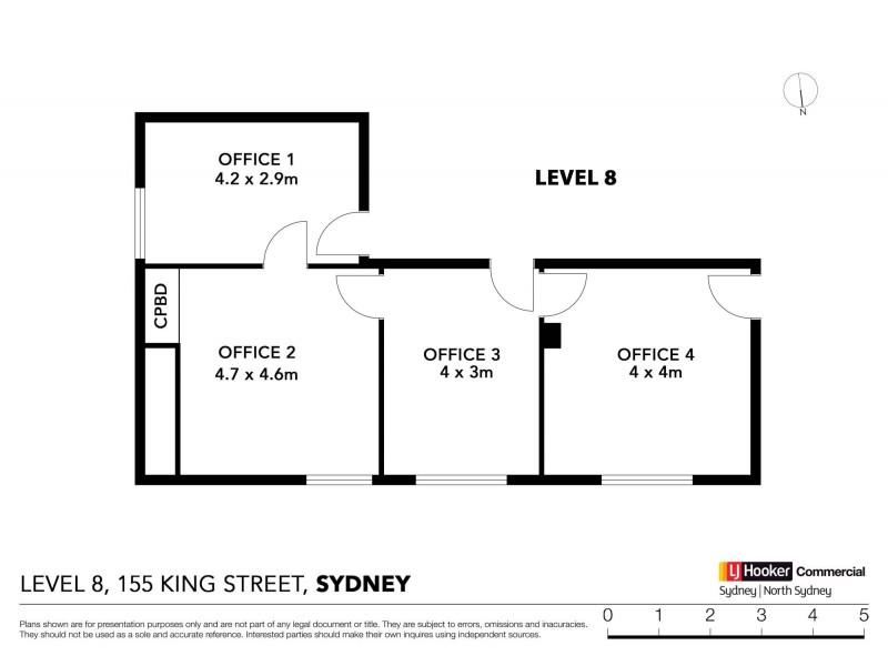Level 8/74 & 75/15 King Street, Sydney NSW 2000 Floorplan