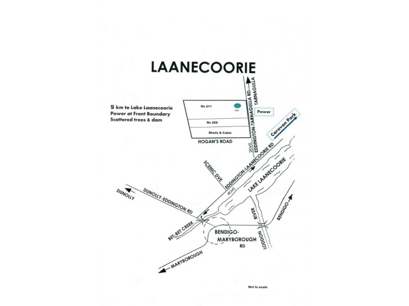 211 Eddington Tarnagulla Road, Laanecoorie VIC 3463 Floorplan