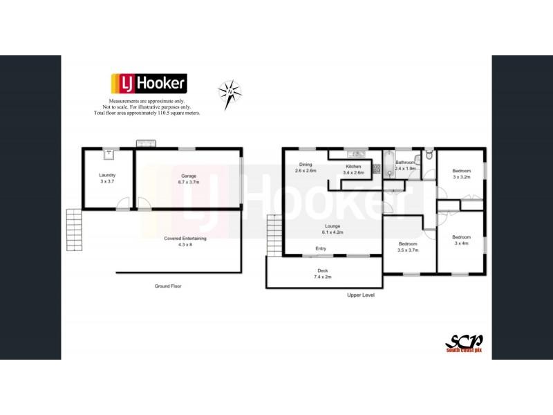 12 Garagarang Street, Malua Bay NSW 2536 Floorplan