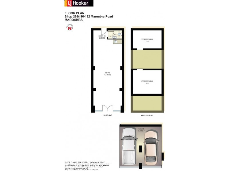 298/116-132 Maroubra Road, Maroubra NSW 2035 Floorplan