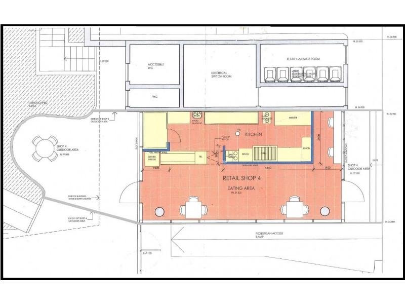 Shop 4 9-15 Ascot Street, Kensington NSW 2033 Floorplan