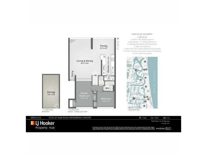 11/32-34 Rudd Street, Broadbeach Waters QLD 4218 Floorplan