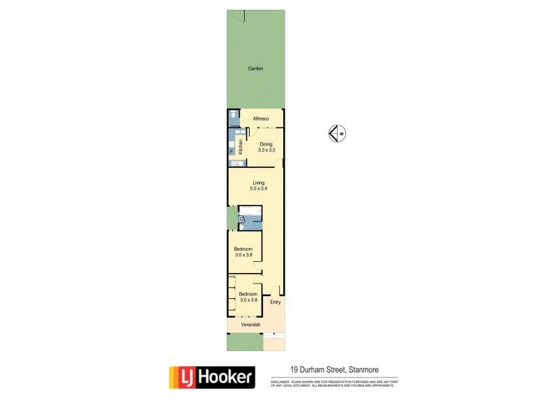 19 Durham St, Stanmore NSW 2048 Floorplan