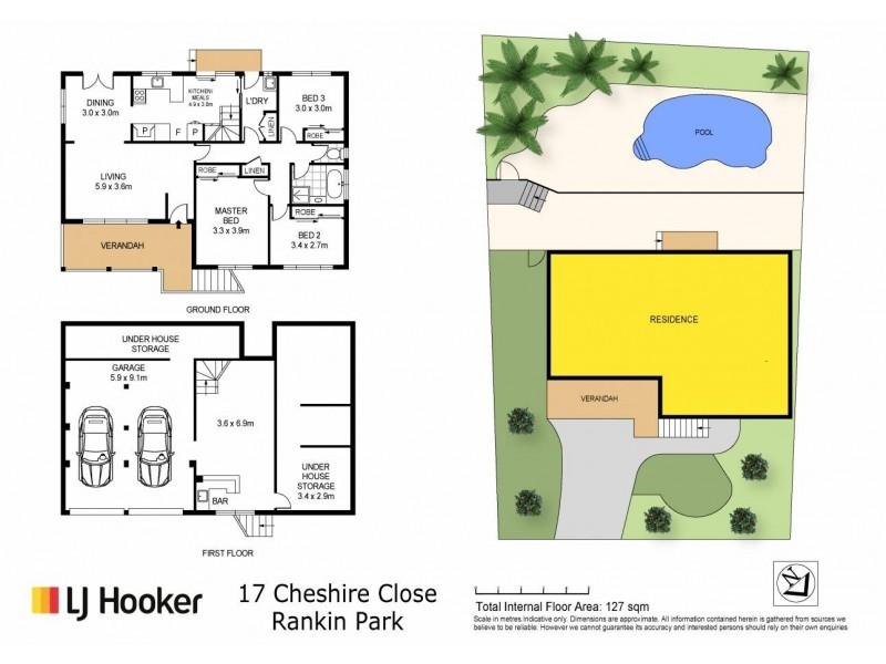 17 Cheshire Close, Rankin Park NSW 2287 Floorplan