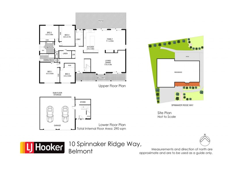 10 Spinnaker Ridge Way, Belmont NSW 2280 Floorplan