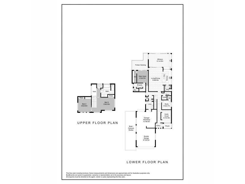 7 Averil Street, Abbey WA 6280 Floorplan