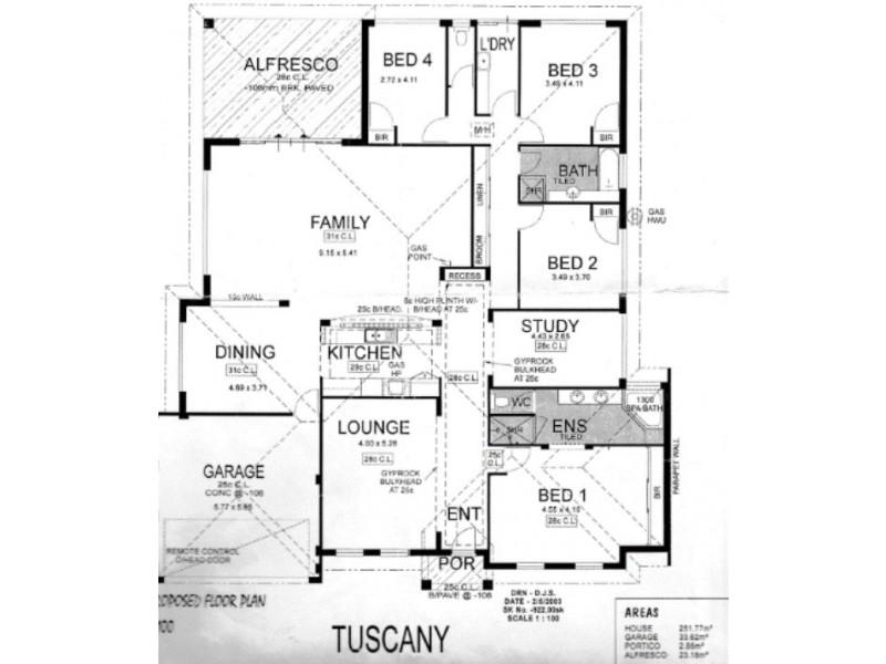 5 Midas Street, Carey Park WA 6230 Floorplan