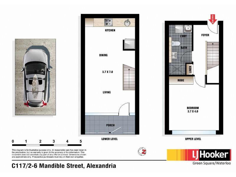 C117/2 Mandible Street, Alexandria NSW 2015 Floorplan
