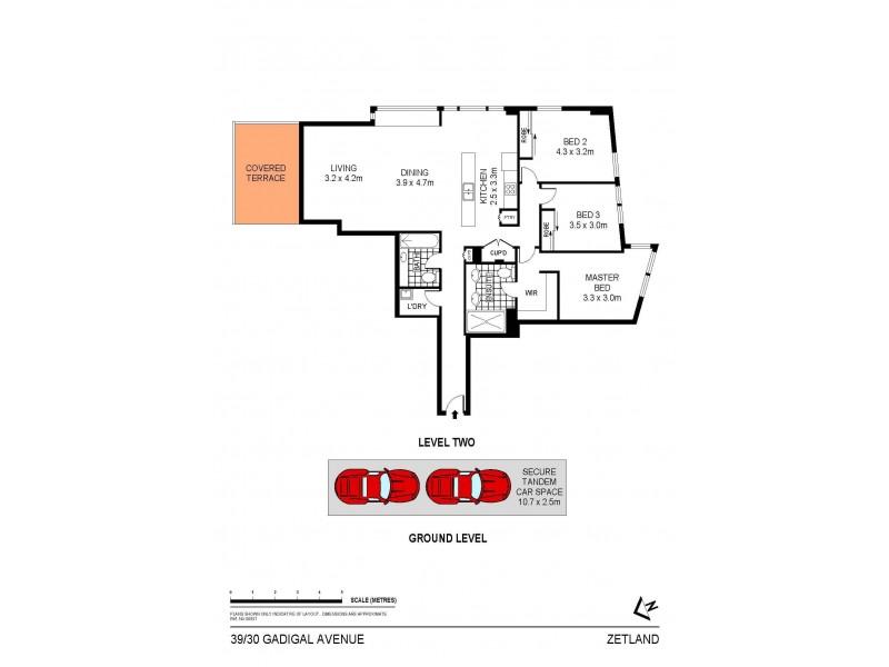 39/30 Gadigal Avenue, Zetland NSW 2017 Floorplan
