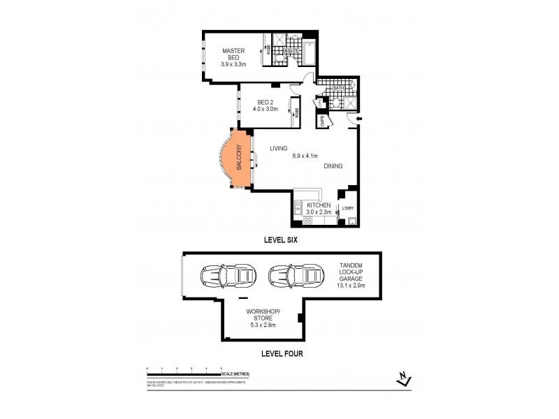 445/83-93 Dalmeny Avenue, Rosebery NSW 2018 Floorplan