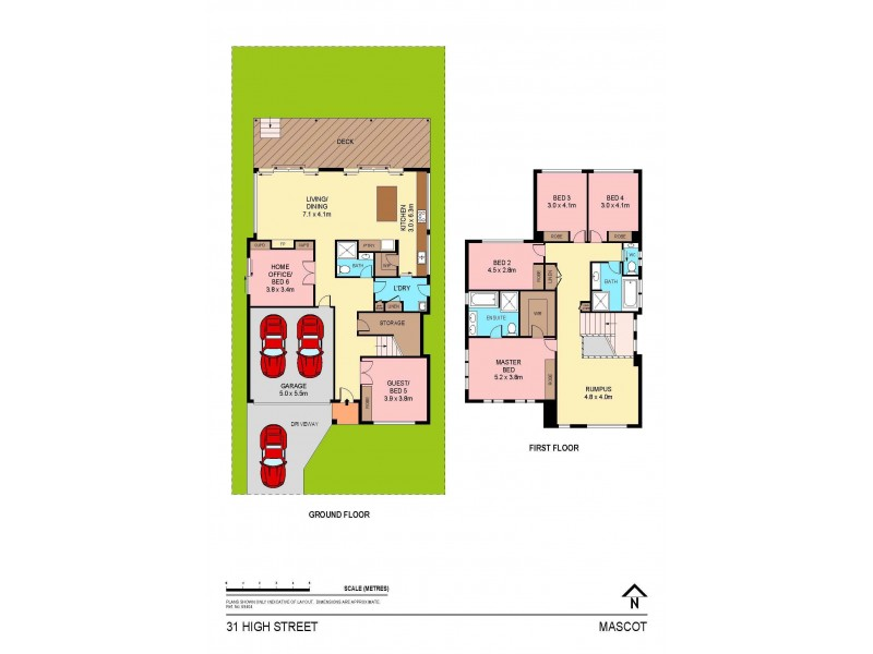 31 High Street, Mascot NSW 2020 Floorplan