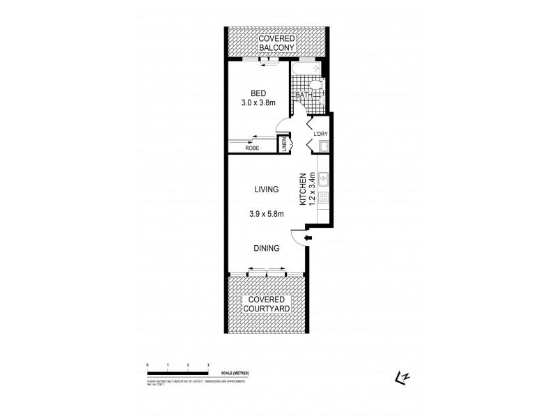 11/1 Shirley Street, Alexandria NSW 2015 Floorplan