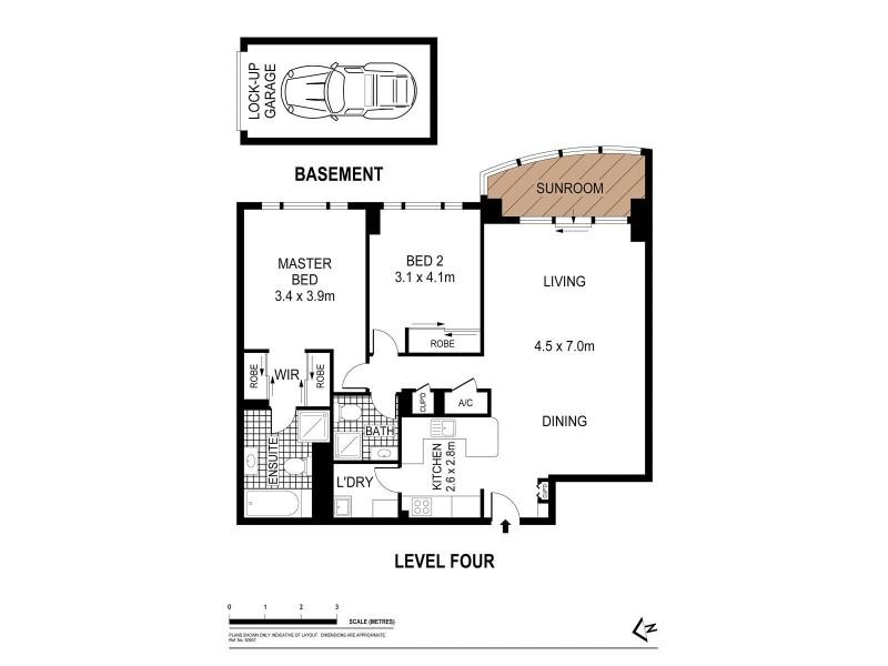 216/83-93 Dalmeny Avenue, Rosebery NSW 2018 Floorplan