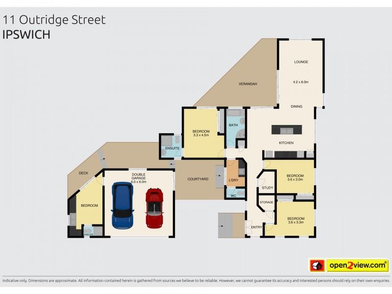 11 Outridge Street, Ipswich QLD 4305 Floorplan