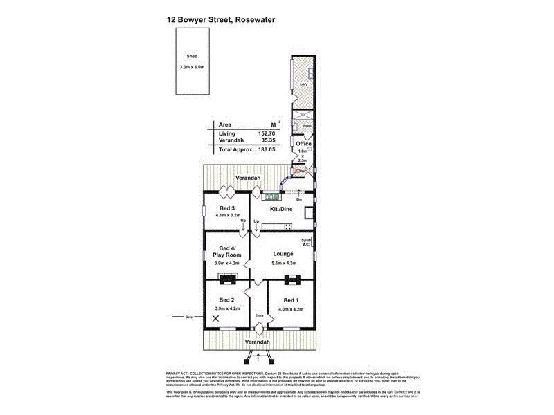 30 May Terrace, Ottoway SA 5013 Floorplan