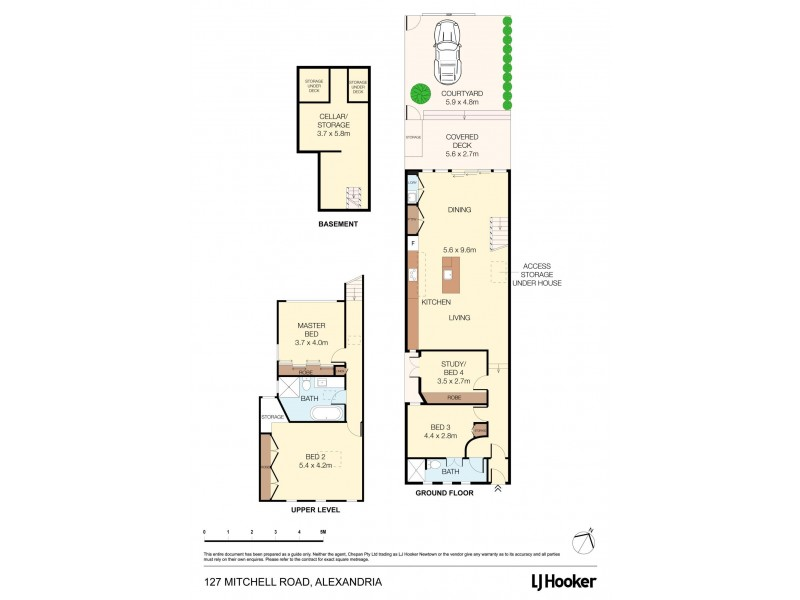 127 Mitchell Road, Alexandria NSW 2015 Floorplan