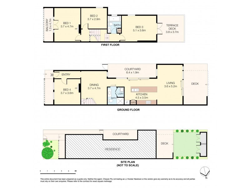 42 Illawarra Road, Marrickville NSW 2204 Floorplan