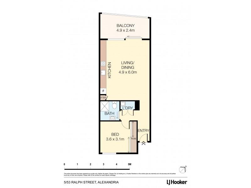 5/53-55 Ralph Street, Alexandria NSW 2015 Floorplan