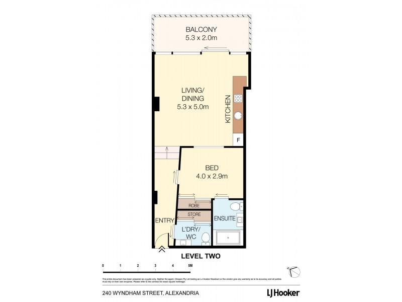 C89/240 Wyndham Street, Alexandria NSW 2015 Floorplan