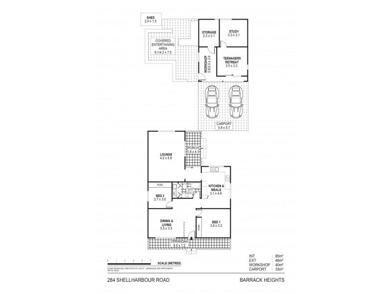 284 Shellharbour Road, Barrack Heights NSW 2528 Floorplan