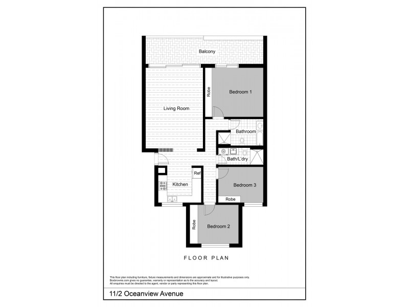 11/2 Oceanview Avenue, Vaucluse NSW 2030 Floorplan