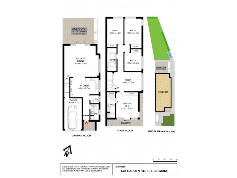 14C Garden Street, Belmore NSW 2192 Floorplan