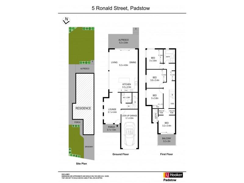 5 Ronald Street, Padstow NSW 2211 Floorplan