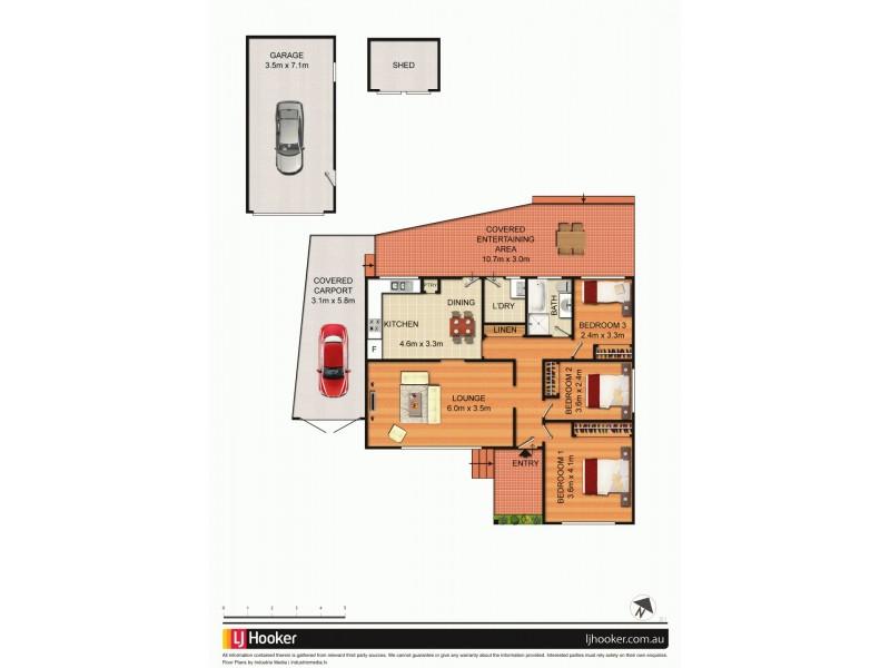 3 Mactier Avenue, Milperra NSW 2214 Floorplan